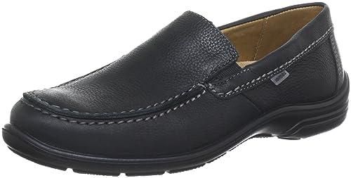 Jomos Forum 2 305204-37-000 - Mocasines de cuero para hombre, color negro, talla 39: Amazon.es: Zapatos y complementos