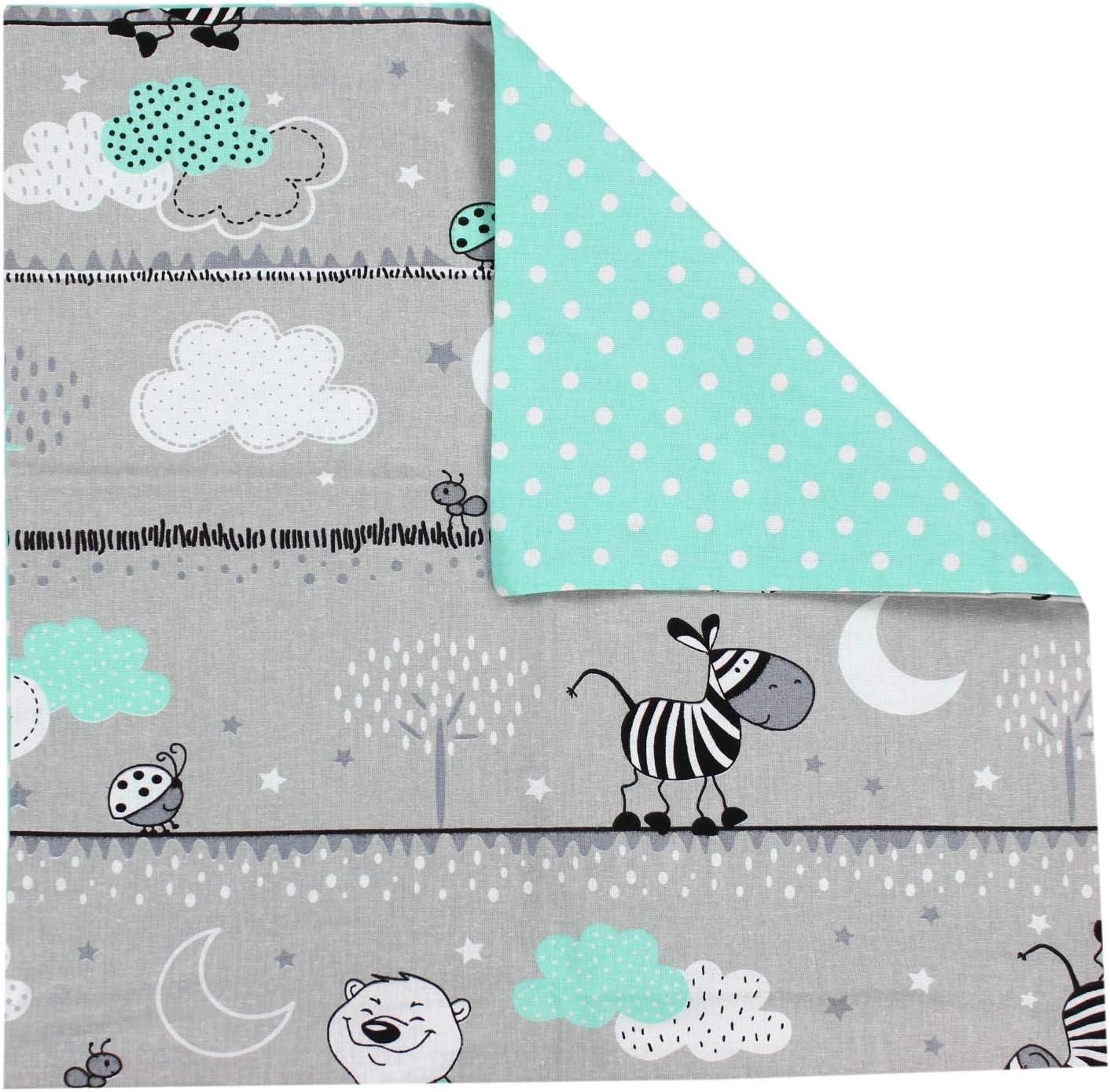 Bosque Animales 40 x 40 cm TupTam Funda para Cojin con Dise/ño Decorativo para Ni/ños