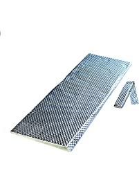 Heatshield Products 180021 HP Sticky 1/8-Inch Thick X 2-Feet Wide X 2-Feet Long Adhesive Heat Shield