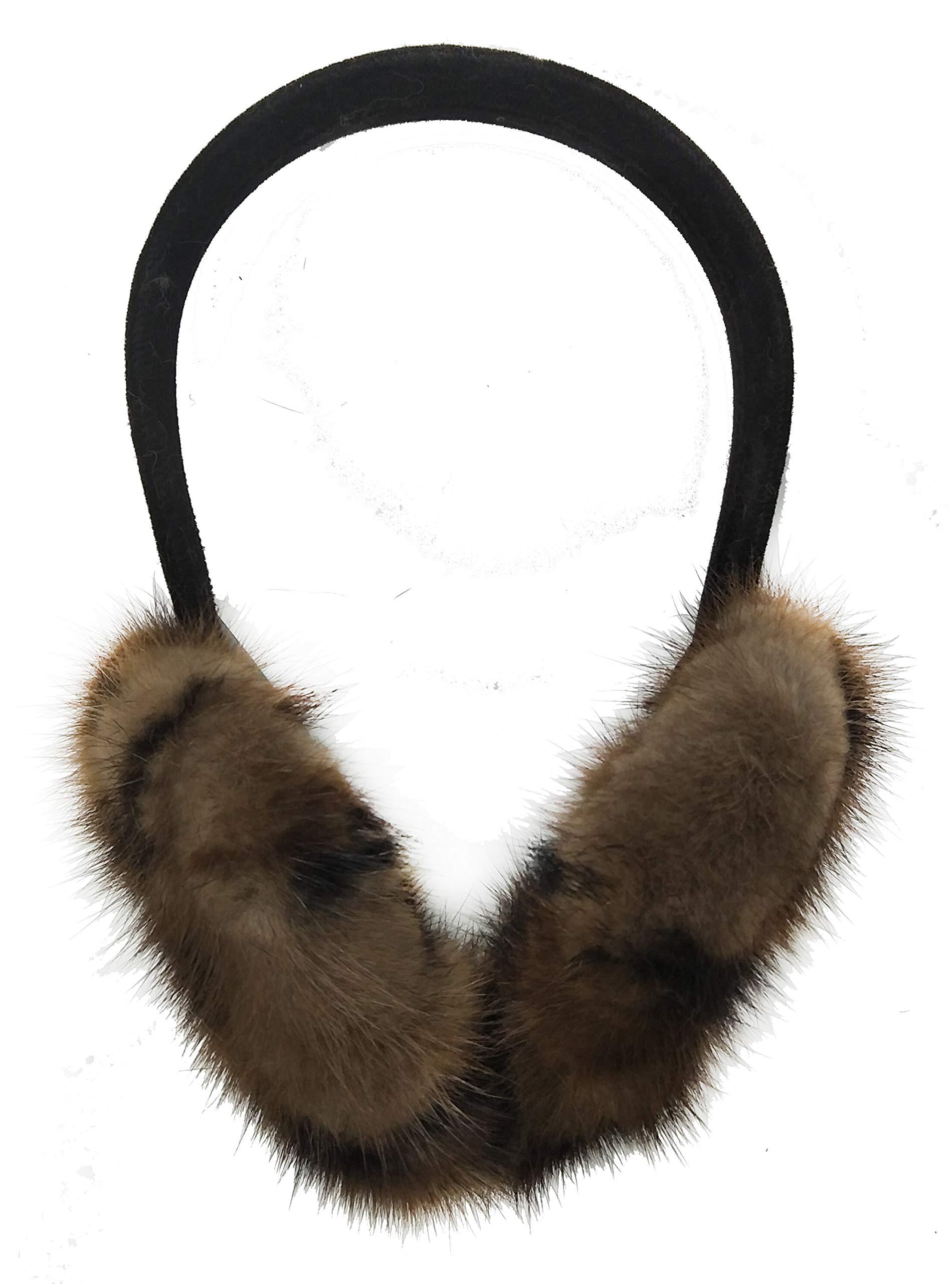 Mink Fur Earmuff (Leopard)