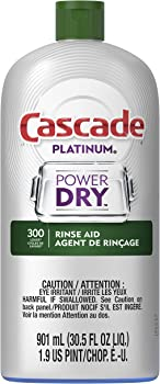 Cascade Platinum Dishwasher Rinse Aid 901 mL
