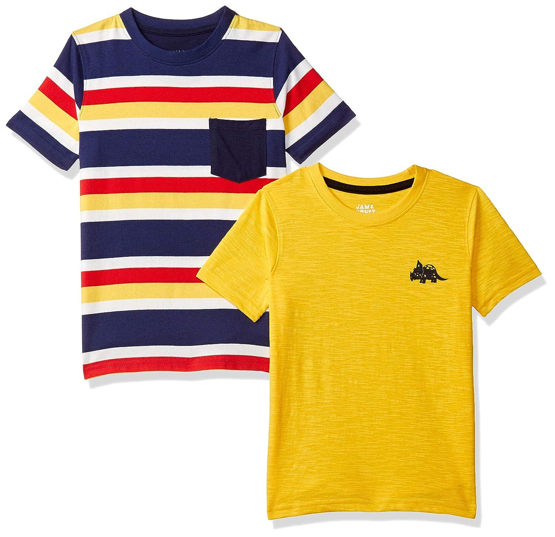 Amazon Brand - Jam & Honey Boys' Regular Fit T-Shirt