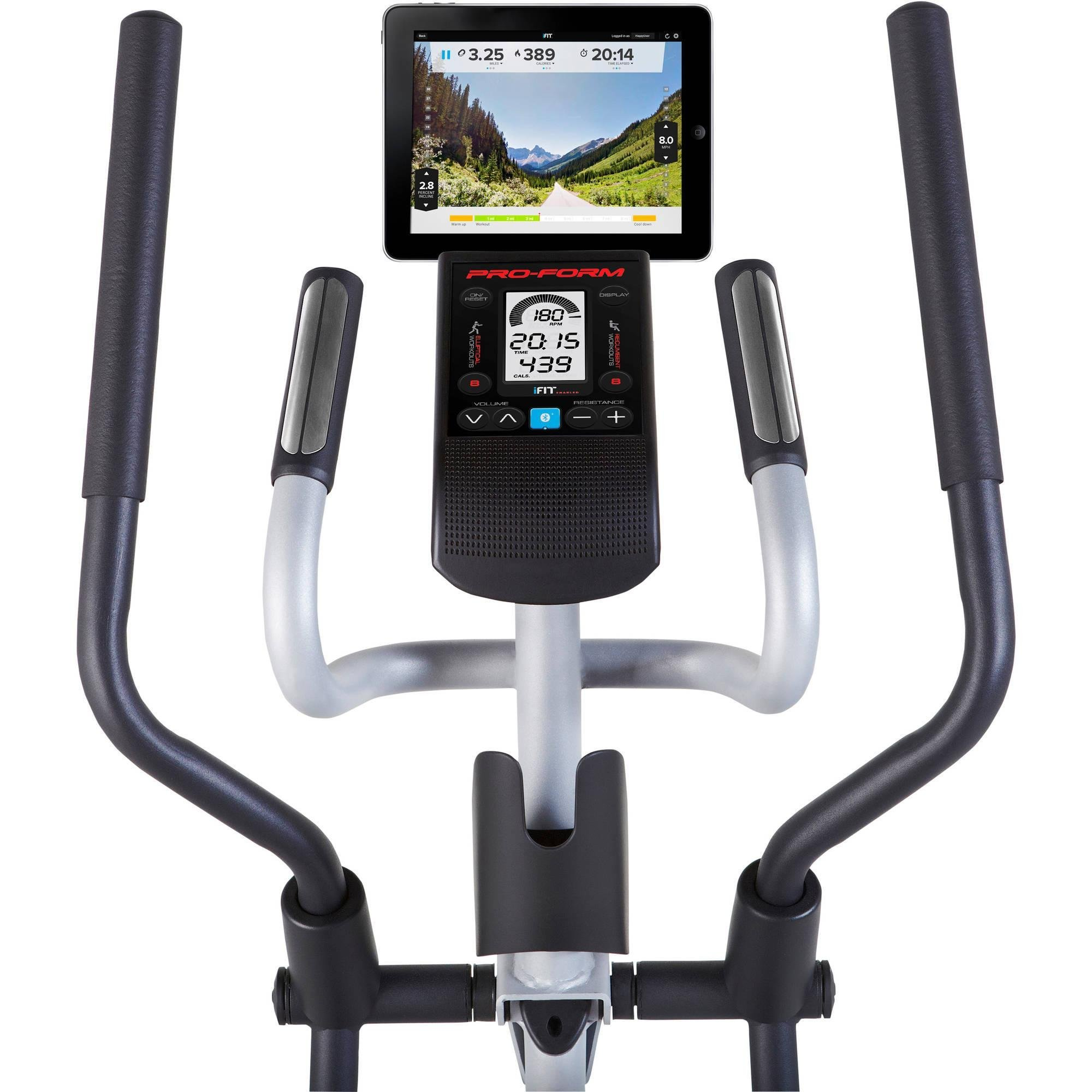 2-in-1 Double Elliptical and Recumbent Bike, Black by ProForm (Image #6)