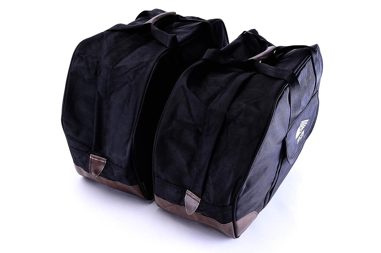 Bestem LGHO-GL18H-SDL Black Saddlebag Liners for Honda Gold Wing GL1800, Pair
