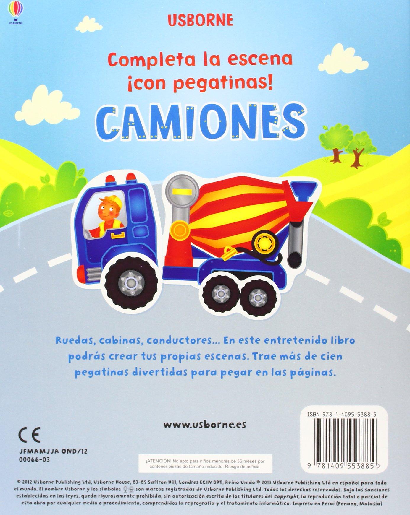 Completa La Escena Con Pegatinas: FELICITY BROOKS: 9781409553885: Amazon.com: Books
