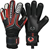 Renegade GK Vulcan Goalie Gloves (Sizes 6-11, 3 Cuts, Lvl 3) Pro-Tek Fingersaves - Excellent All-Around Goalkeeper Glove for Higher Level Play - German Hyper Grip Palms, 30 Day Guar.