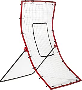 Franklin Sports Pitch Back Baseball Rebounder - Pitch Return Trainer and Rebound Net - All Angles for Grounders and Pop Flies
