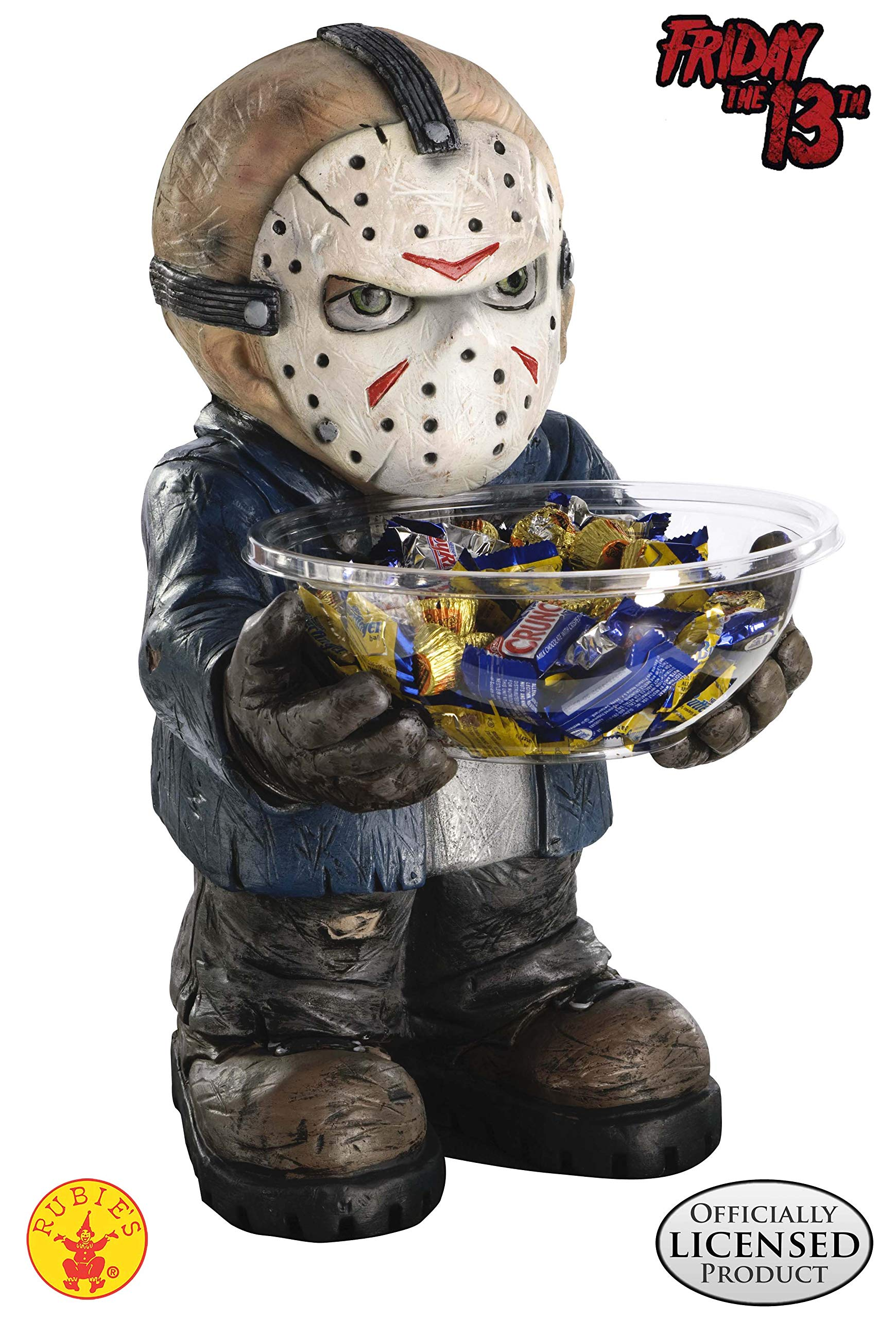 Friday the 13th Jason Candy Bowl Holder by Rubie's