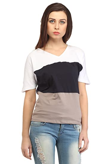 6bd1a681a2c Cation Women Multicoloured Top Tops available at Amazon for Rs.519
