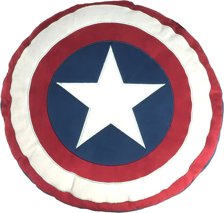 Marvel Captain America 'Civil War' Shield Decorative Pillow