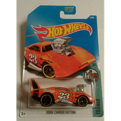 Hot Wheels 2020 Tooned Dodge Charger Daytona 6/365, Orange: Toys & Games