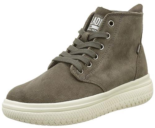 Palladium Crushion su U, Sneaker a Collo Alto Unisex-Adulto, Beige (Safari), 39 EU