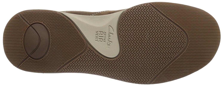 Buy Clarks Men's Javery Time Black Safety Shoes 12 UK