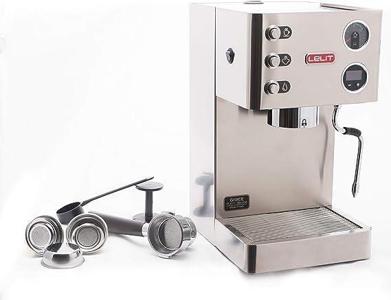 Lelit Grace PL81T-Grace, Máquina de Espresso Semiprofesional ...