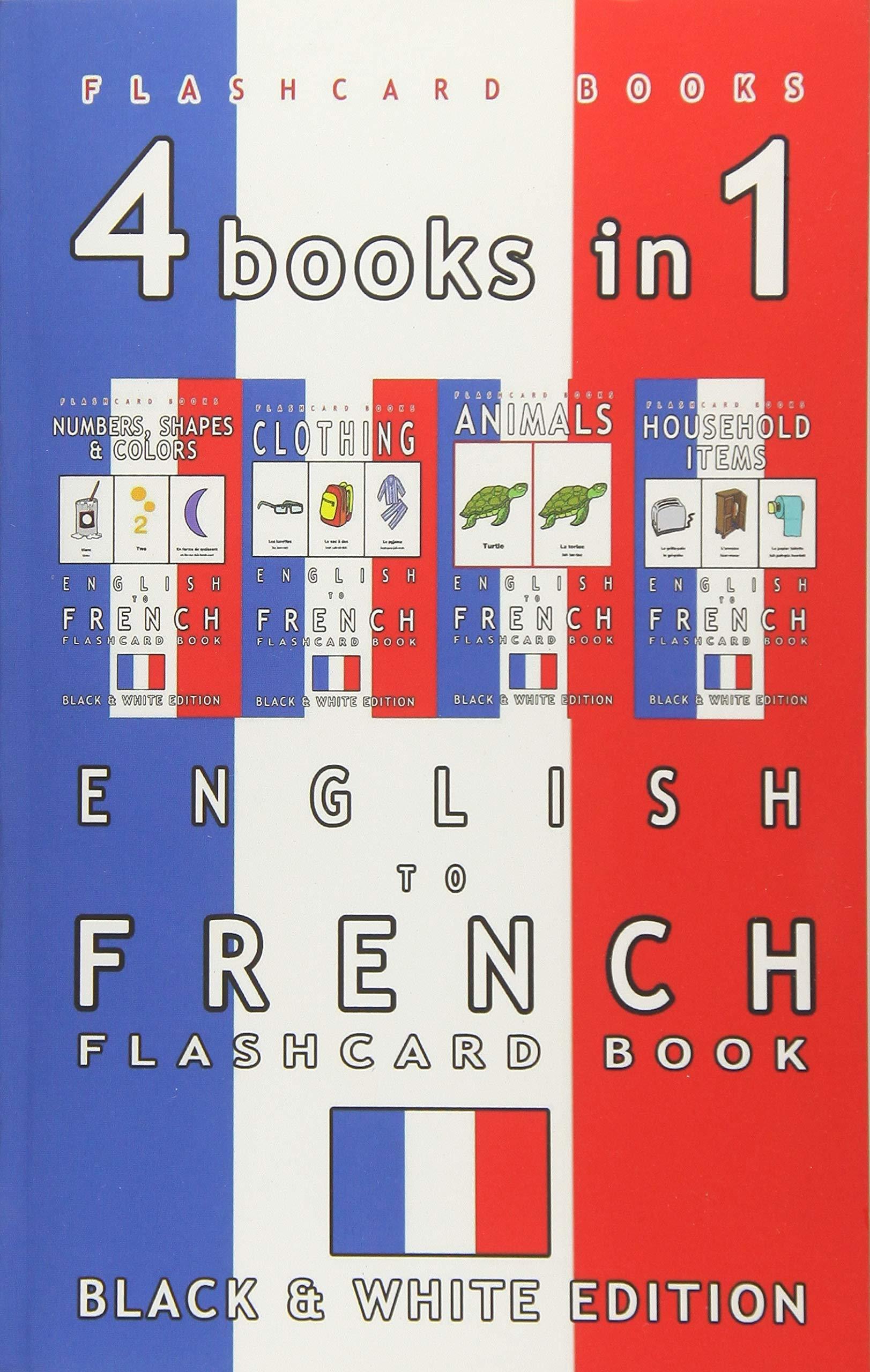 books Vocabulary Children Bilingual Flashcards product image