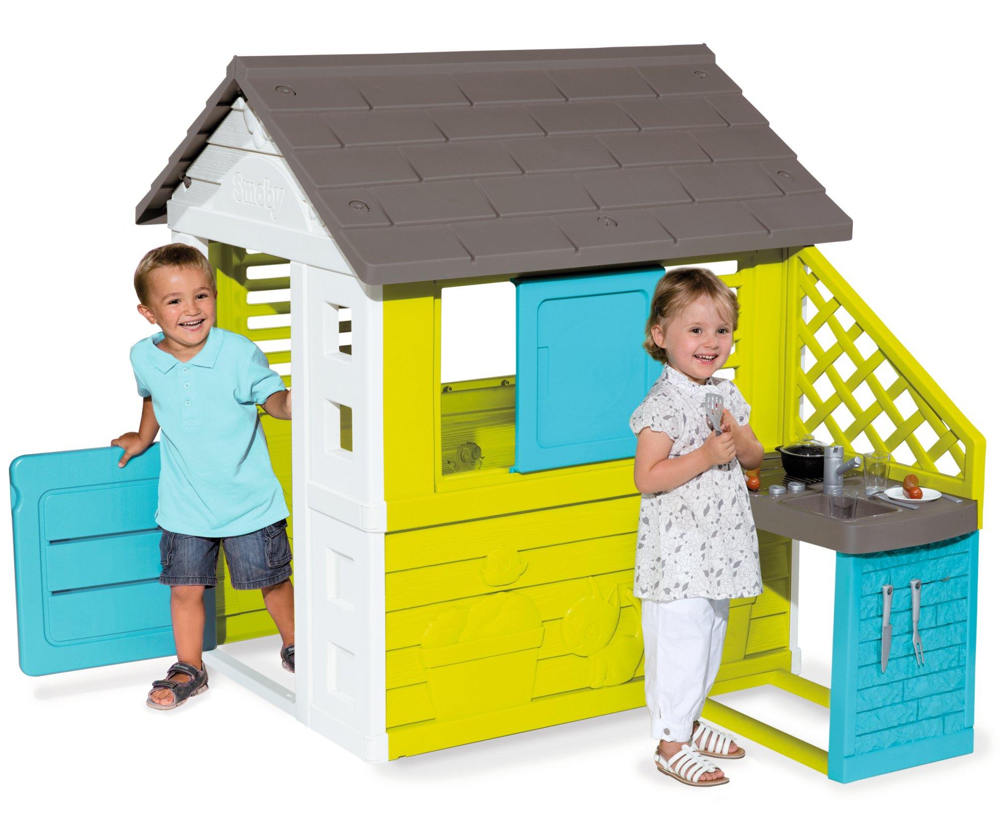 Smoby - 810703 - Jeu Plein Air -  Maison Pretty avec Cuisine product image