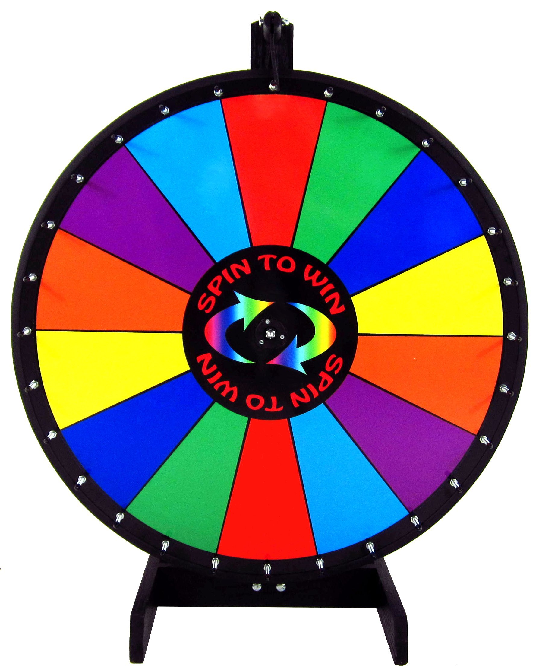 30in Quality Spin to Win Dry Erase Prize Wheel