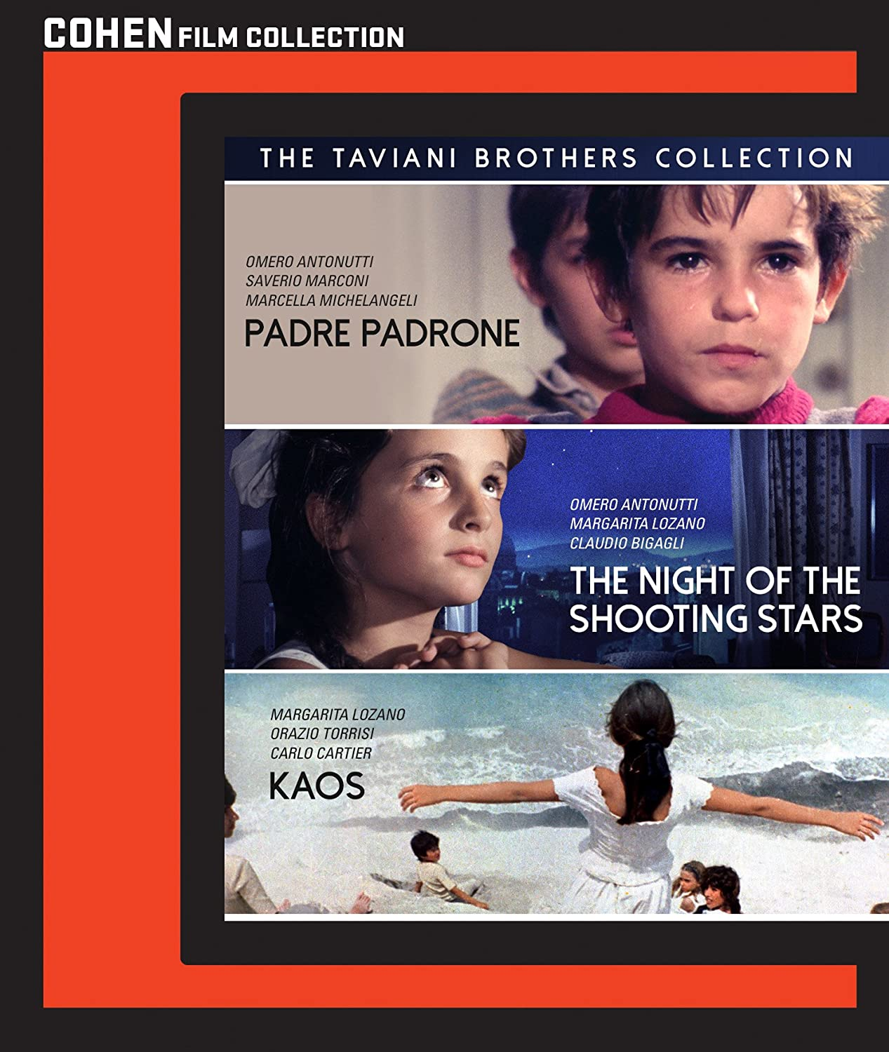 The Taviani Brothers collection DVD image