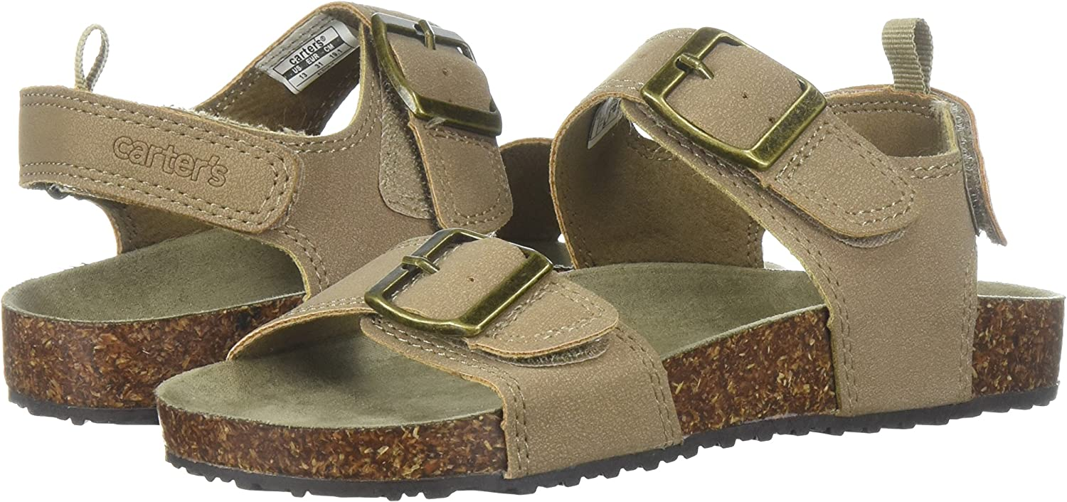 Carter/'s Toddler Boys Casual Sandals Summer Brown New