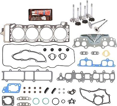 Timing Chain Kit for 1983-84 Toyota 2.4L SOHC New TK2020 8 Valve Celica Pickup 4Runner 22R Engine 98 LINKS - SINGLE ROW