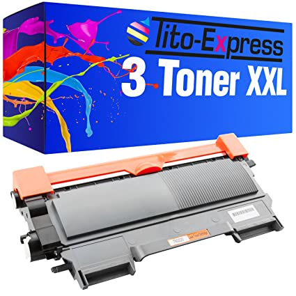 PlatinumSerie® 3x cartucho de tóner compatible con Brother TN-2220 ...