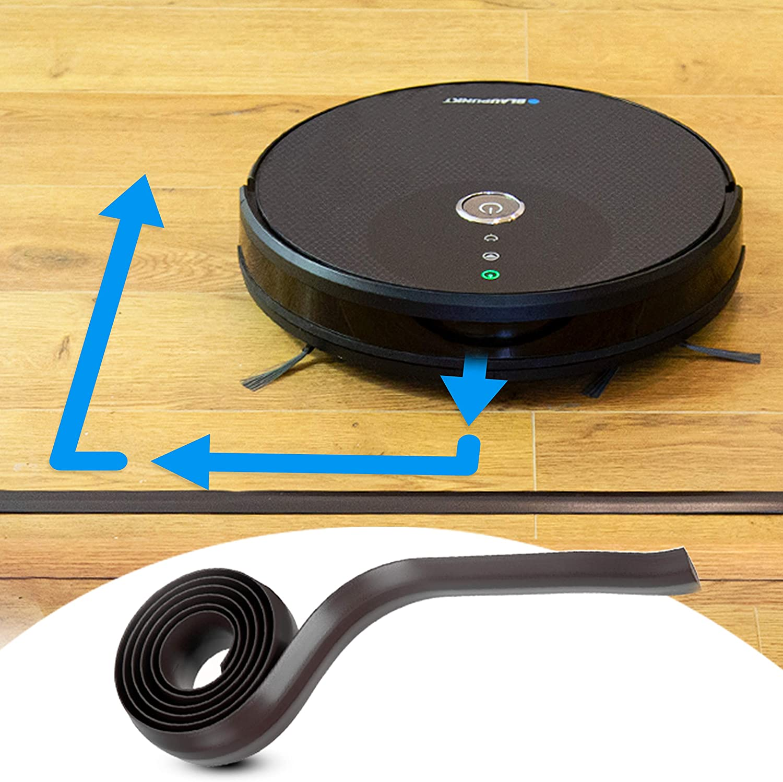 Blaupunkt Bluebot XBOOST - Robot Aspirador y Fregasuelos 2 en 1, Navegación Inteligente y control Alexa o Google Home, Suelos duros y alfombras: Amazon.es: Hogar