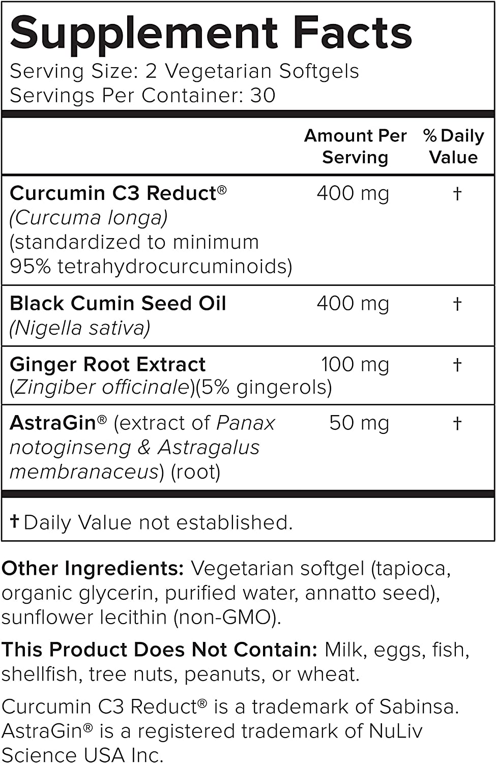 Smarter Turmeric Curcumin - Potency and Absorption in a SoftGel - The Most Active Form of Curcuminoid Found in the Turmeric Root - 95% Tetra-Hydro Curcuminoids (30 Servings)