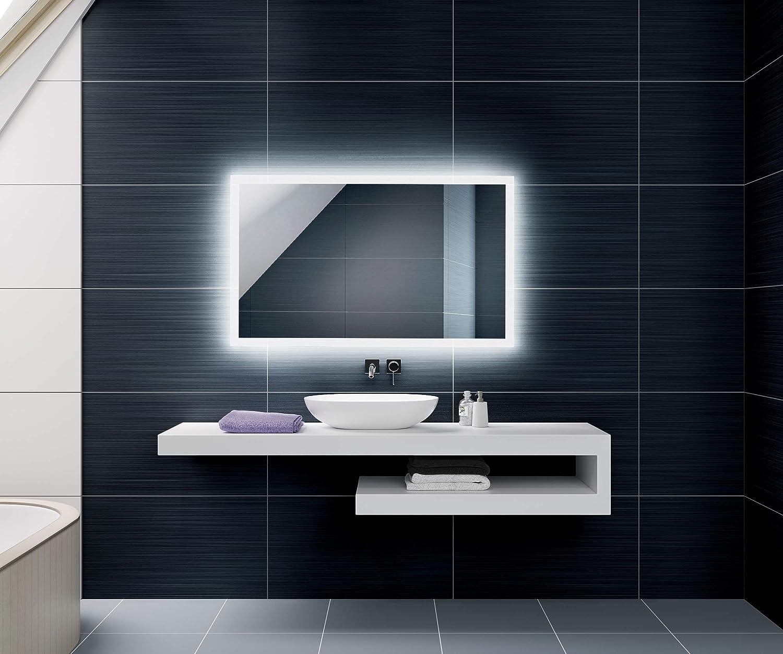 FORAM Espejo de Baño con Iluminación LED - Luz Espejo de Pared con ...