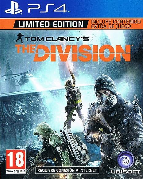 Tom Clancys - The Division Limited Edition: Amazon.es: Videojuegos