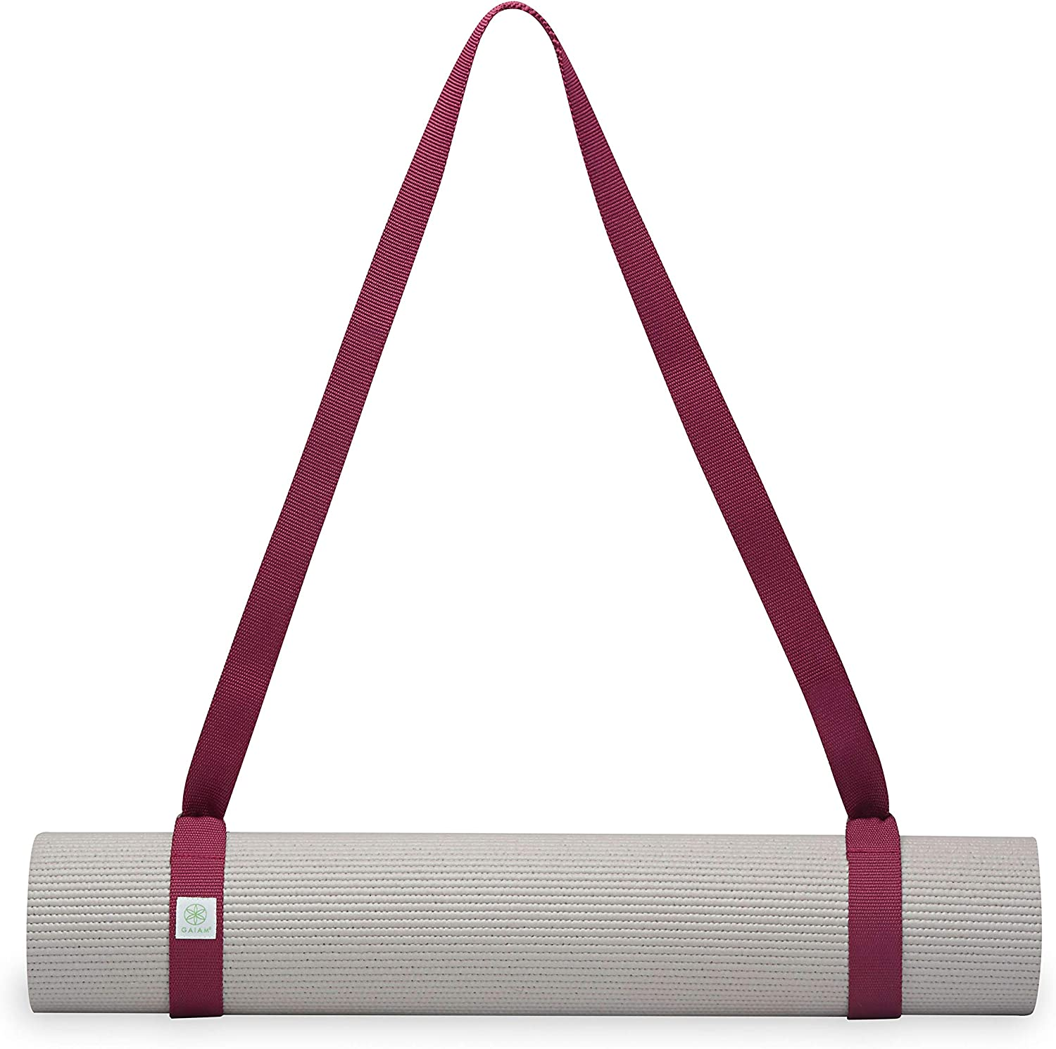 61 inch Carrying Strap HAIOPS Adjustable Durable Cotton Yoga Mat Strap Mat Not Included