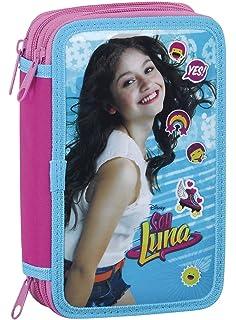 Disney Soy Luna Federmappe Federmäppchen Federtasche Mäppchen Schulmäppchen Etui
