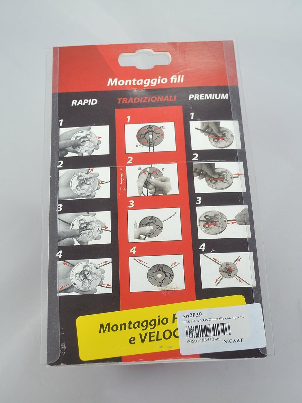 Cabezal Rovo universal para desbrozadora Nicart Made in Italy de ...