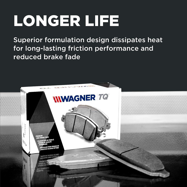 Wagner Brake QC1721A Thermo Quiet Ceramic Disc Brake Pad Set