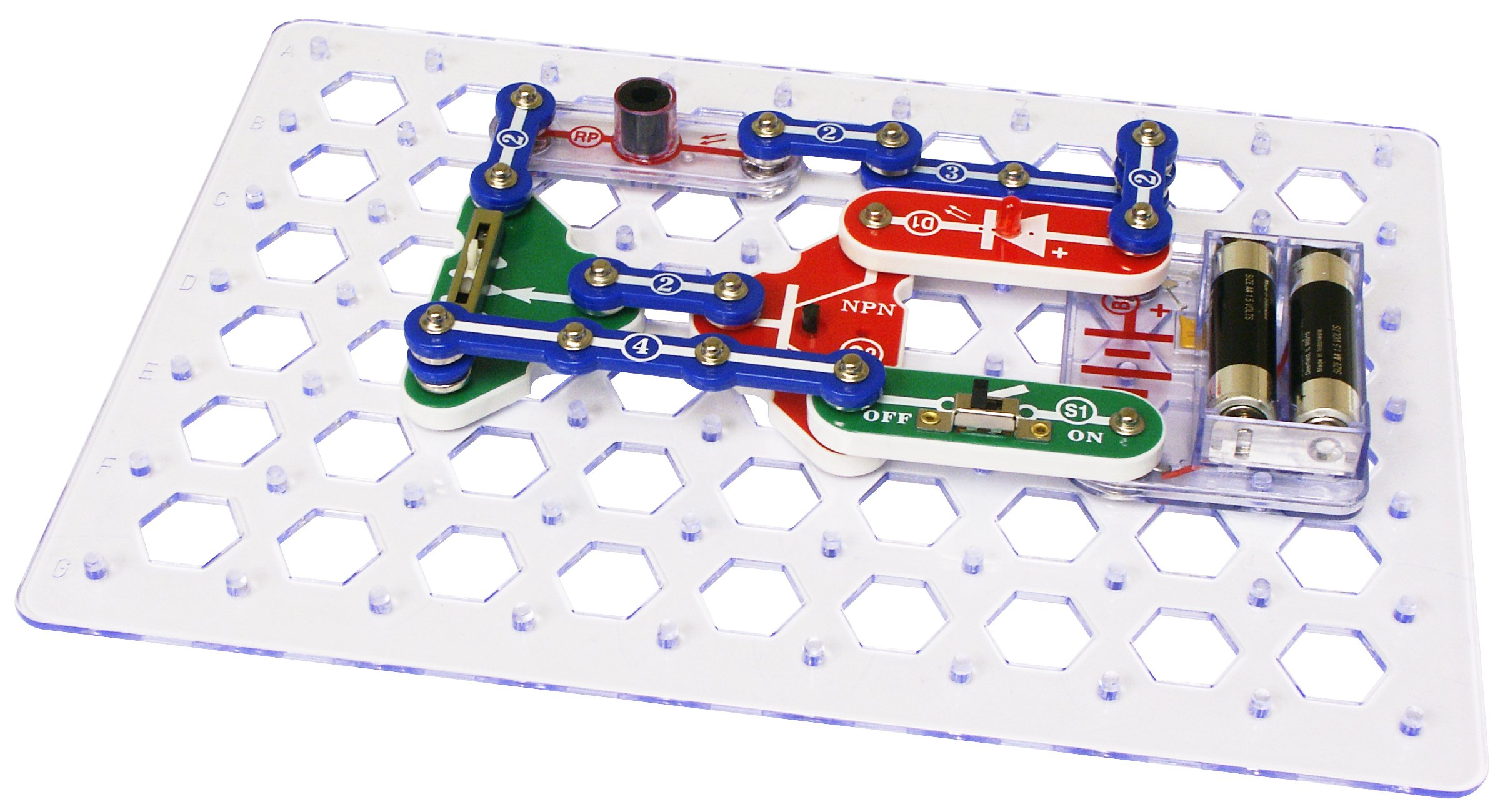 Snap Circuits Classic SC-300 Electronics Exploration Kit | Over 300 STEM Projects | 4-Color Project Manual | 60 Snap Modules | Unlimited Fun by Snap Circuits (Image #4)