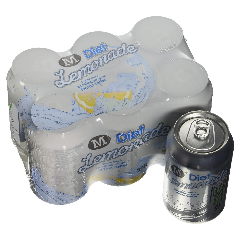 Morrisons Kitchen Appliances Morrisons Lemonade 6 X 330ml Cans Amazoncouk Prime Pantry