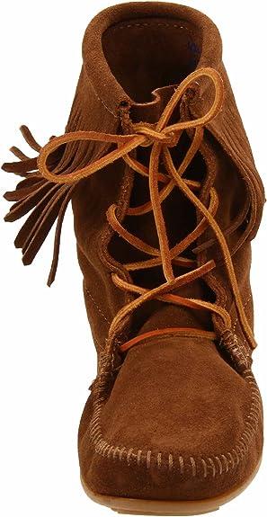 Minnetonka Tramper Ankle high boot 428, Damen Stiefel, Braun (Dusty Brown), 36 EU