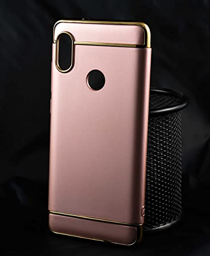 super popular ec19f 0aa97 Redmi Note 5 Pro Hard Back Case, 3 in 1 Electroplated: Amazon.in ...