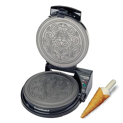 Amazon.com: ChefsChoice 839 KrumKake Express Krumkake ...