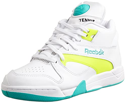 31f8585105f7c Reebok Classic Court Victory Pump White Yellow Unisex Sneakers