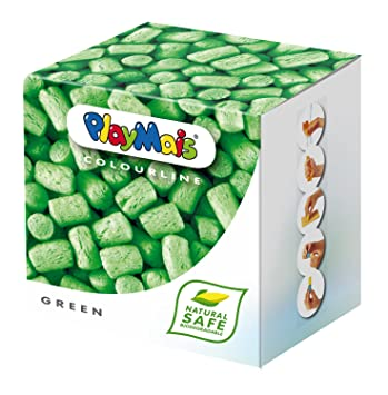 Loick Biowertstoff 160031 PlayMais - Caja de 150 unidades de material para modelar en color verde