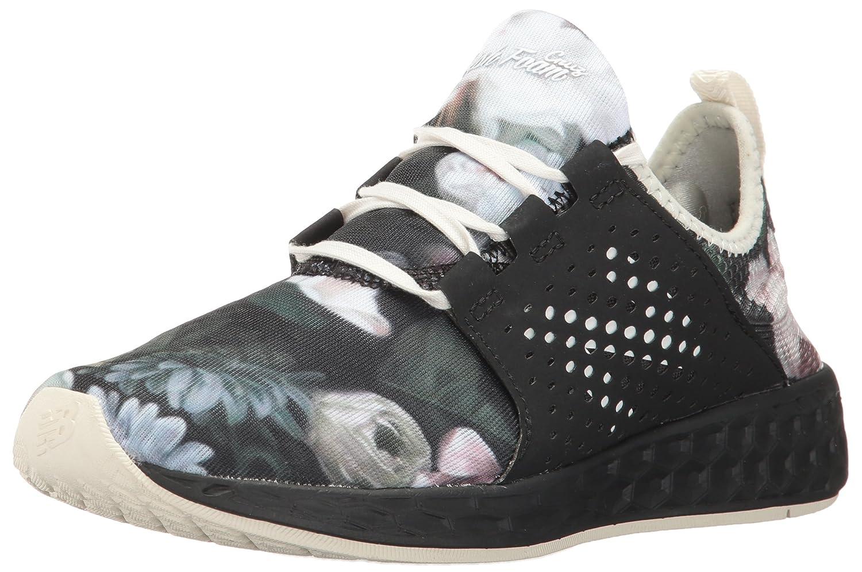 New Balance Women's Fresh Foam Cruz V1 Mesh Running Shoe B01LYLY78D 5 B(M) US Black Graphic/Black
