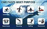 WUAMBO Men's Sports Runnning Swim Board Shorts with