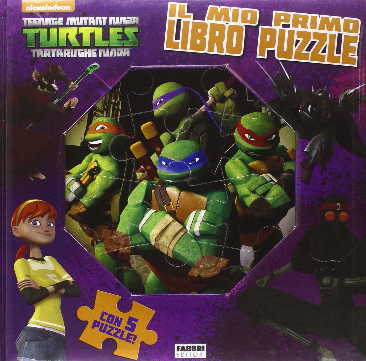 Il mio primo libro puzzle. Turtles Tartarughe Ninja. Ediz ...