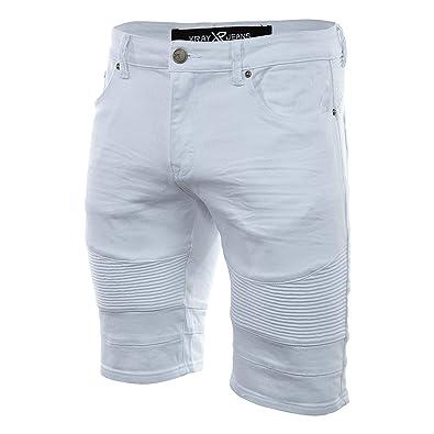 Dianshao Pantalones Cortos Vaqueros Hombre Tejanos Shorts