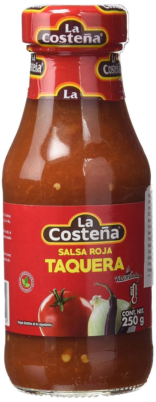 La Costeña Salsa Casera Roja - Paquete de 20 x 250 gr - Total: 5000 gr: Amazon.es: Alimentación y bebidas