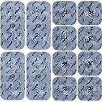 12 Electrodos de 10x5 cm & 5x5 cm