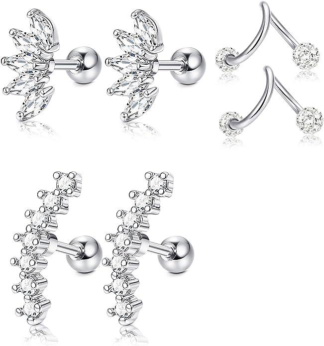 steel hoop earring hinge hoop earring no clasp hoop Small silver folding creoles made of stainless steel stainless steel earring man earring