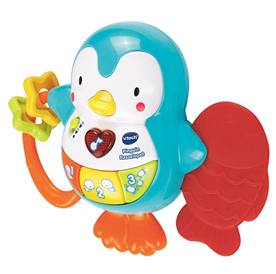 Amazon.com: Vtech 80 – 165604 – Pinguin rasselspaß: Toys & Games