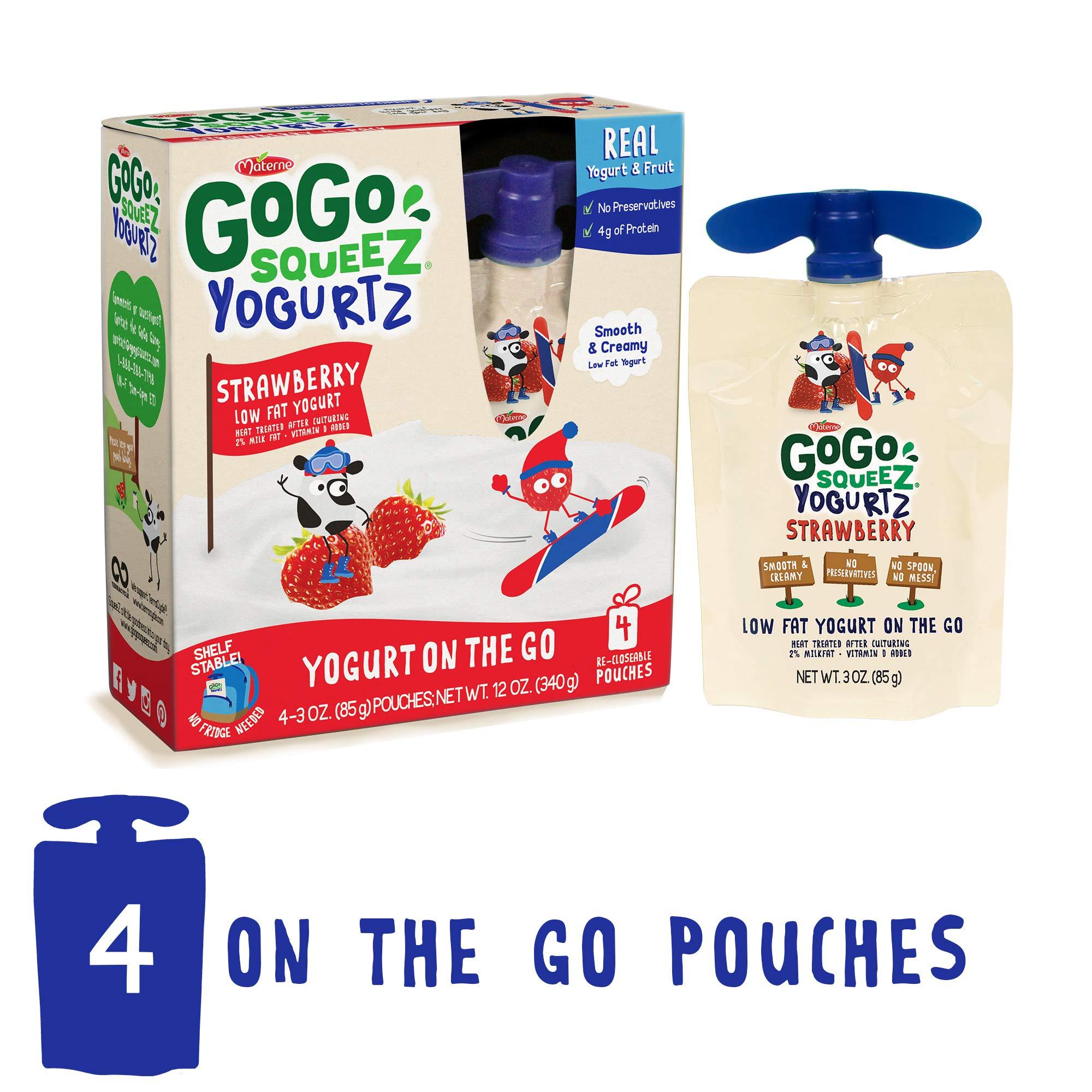 596a954815e1 GoGo squeeZ YogurtZ, Strawberry, 3 Ounce - TiendaMIA.com