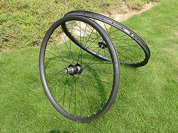 Toray carbono llantas Full Carbon Ud mate bicicleta de montaña 29er Clincher Wheel Rim Disco de freno para bicicleta MTB Ruedas: Amazon.es: Deportes y aire ...